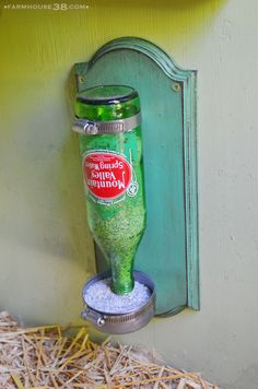 Chicken Grit Dispenser from Farmhouse38