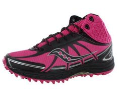 Saucony Womens Progrid Outlaw Trail Running ShoePinkBlack10 M US * Want additional info? Click on the image.