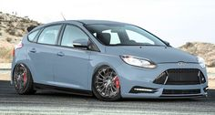 Ford revealed customized versions of the Focus ST on Monday for the upcoming SEMA show in November. The four new hatches add to the company's Dreamcase, a website that shows off what Ford will offer . Ford Focus, Focus Rs, First Car Insurance, 2015 Cars, Ford News, Older Models, Ford Fusion, Car Tuning, Ford Transit