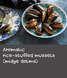 Aromatic rice-stuffed mussels (midye dolma) | Evrim Gunce presents a fortnightly segment, talking to chef and restaurateur Somer Sivrioglu about classic and regional Turkish meals. In this first segment, Somer shares his recipe for a street-hawker-style dish from Istanbul – aromatic rice-stuffed mussels.