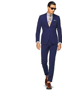 Anzug Blau Unifarben Copenhagen P3562 | I do not need a navy suit but I need a navy suit