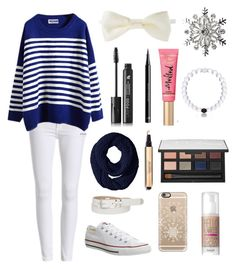 """""""Untitled #217"""" by fashion4life11 ❤ liked on Polyvore featuring Forever 21, LashFood, H&M, Too Faced Cosmetics, Kim Rogers, NARS Cosmetics, maurices, Casetify, Converse and converse"""
