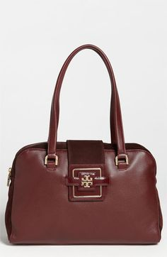 Tory Burch 'Julian' Top Handle Satchel available at #Nordstrom