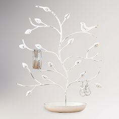 boîte à bijoux et arbre de rangement
