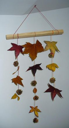 8 ideas for an original autumn decoration – From my hammock Autumn Crafts, Autumn Art, Nature Crafts, Holiday Crafts, Fall Crafts For Toddlers, Toddler Crafts, Diy For Kids, Thanksgiving Diy, Thanksgiving Decorations