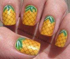 30 Tasty Fruit Nail Art Designs