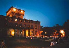 tuscany villa by nigth