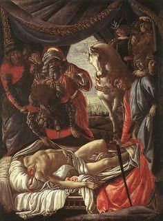 La découverte du cadavre d'Holopherne, 1472