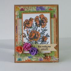Stamps - North Coast Creations Floral Sentiments 3