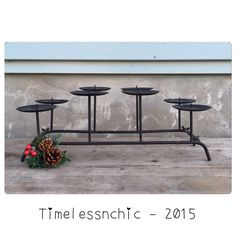 A personal favorite from my Etsy shop https://www.etsy.com/listing/259452213/fireplace-candelabra-cast-iron