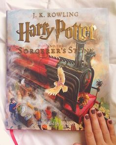 Harry Potter and the Sorcerer's Stone: Illustrated Edition by J.K. Rowling and Jim Kay // New Orleans Fresh