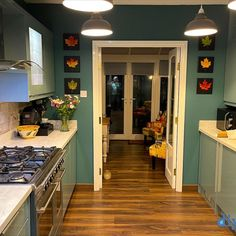 An Innova Altino Petrol Blue Kitchen