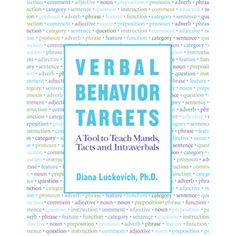 Great book for setting verbal behavior goals for learners with autism and other developmental delays.