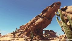 Desert Environment (RealTime) - Jonas Ronnegard