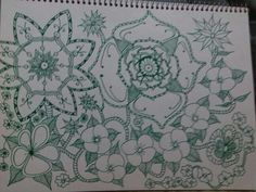 Zentangle realizado por angel rivera 2/5/15