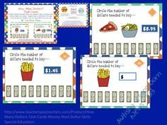 Next Dollar Up Strategy: Resources and Freebie - Autism Classroom Resources