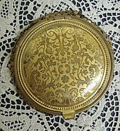antique powder compact