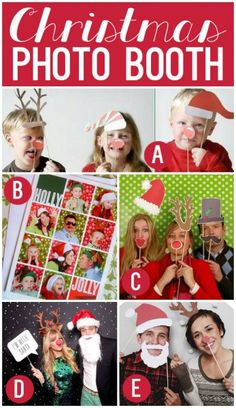 So many fun Christmas photo ideas!