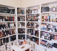 I wish my bookshelf looked like that