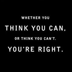 Whether you think...