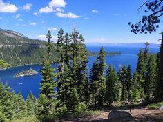 Fannette Island, Emerald Bay and Lake Tahoe / http://www.sleeptahoe.com/fannette-island-emerald-bay-and-lake-tahoe/