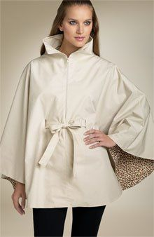 Convertible rain cape pattern