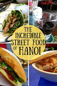If you are looking to experience the street food of Hanoi, start your exploration with a guided food tour. Learn a bit about the food, then with your new knowledge, dive into the delicious scene on your own!