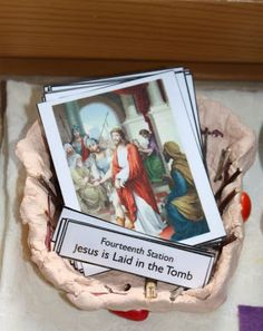 Explore and Express: Montessori Cards: Stations of the Cross & Stations of the Resurrection