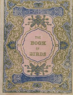 The Book of Birds.