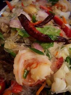 Thai Spicy Glass Noodle Salad