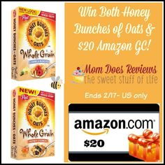 """Honey Bunches of Oats & Amazon Giveaway (Ends 02/17/15) - It's Free At Last - From products to movies, recipes and more. Come see how my life has become """"Free At Last"""""""