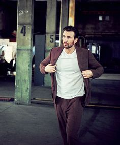 """bigcaprogers: """" Chris Evans photographed by Matthew Brookes for InStyle (May 2016) """""""