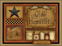 Olde Homestead by artist Carrie Knoff