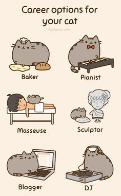 Imagine if your cat was a masseuse...awesome!