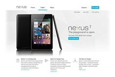 Google Nexus 7: $199 Android Tablet Up For Pre-Order