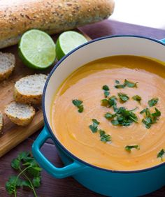 Thai Curry Lentil & Sweet Potato Soup Recipe - RecipeChart.com