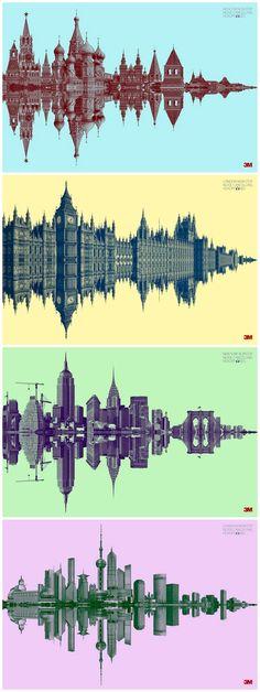 3M降噪耳机 广告设计