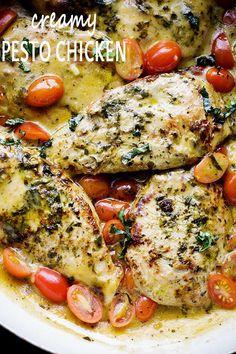 Creamy Pesto Chicken