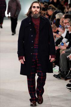 Sfilata Moda Uomo Oliver Spencer Londra - Autunno Inverno 2016-17 - Vogue