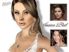Jessica Biel sim mosel by MartyP