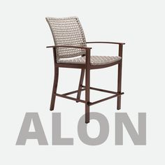 The Alon Outdoor Furniture Collection designed by John Caldwell features a transitional, rustic design style supported by an aluminum extrusion frame available in all powder coat finishes. The weave is textural and multi-colored for a natural appearance to your outdoor space. Featured product: Alon Balcony Height Stool Balcony Chairs, Outdoor Chairs, Outdoor Decor, Outdoor Furniture Inspiration, Rustic Design, Furniture Collection, Weave, Stool, Powder