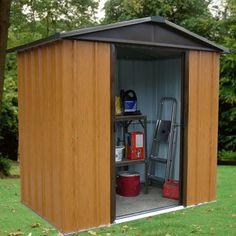 Woodview Premium Metal Shed   YardMaster International