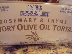 Ines Rosales Rosemary and Thyme Tortas. Enter to win FREE package in todays post! Thru 5/11/12