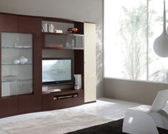 Modern elegance entertainment center