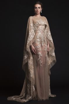Lord of the Rings Fashion  , Dress for Thranduil's wife - Krikor Jabotian