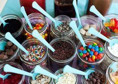 Ice Cream Sundae Party | love ice cream. So I especially think an Ice Cream Sundae party ...