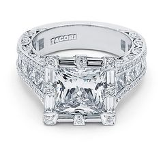 RoyalT ring from Tacori. The King of Rings!  I'd change the top a little but I love this! Maybe on our vow renewal. Heh