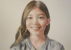 Acoustic Drawings The Shinji Ogata Gallery: My Daughter's Portrait 5 娘のポートレート 6