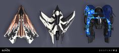 ArtStation - Destiny 2- Exotic Ship Graphics , Dima Goryainov