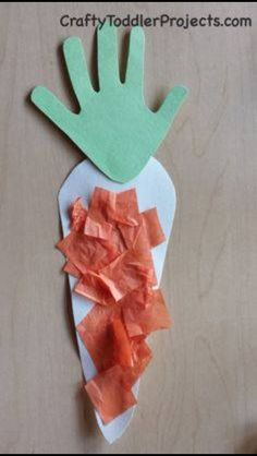 Carrot hand print xx